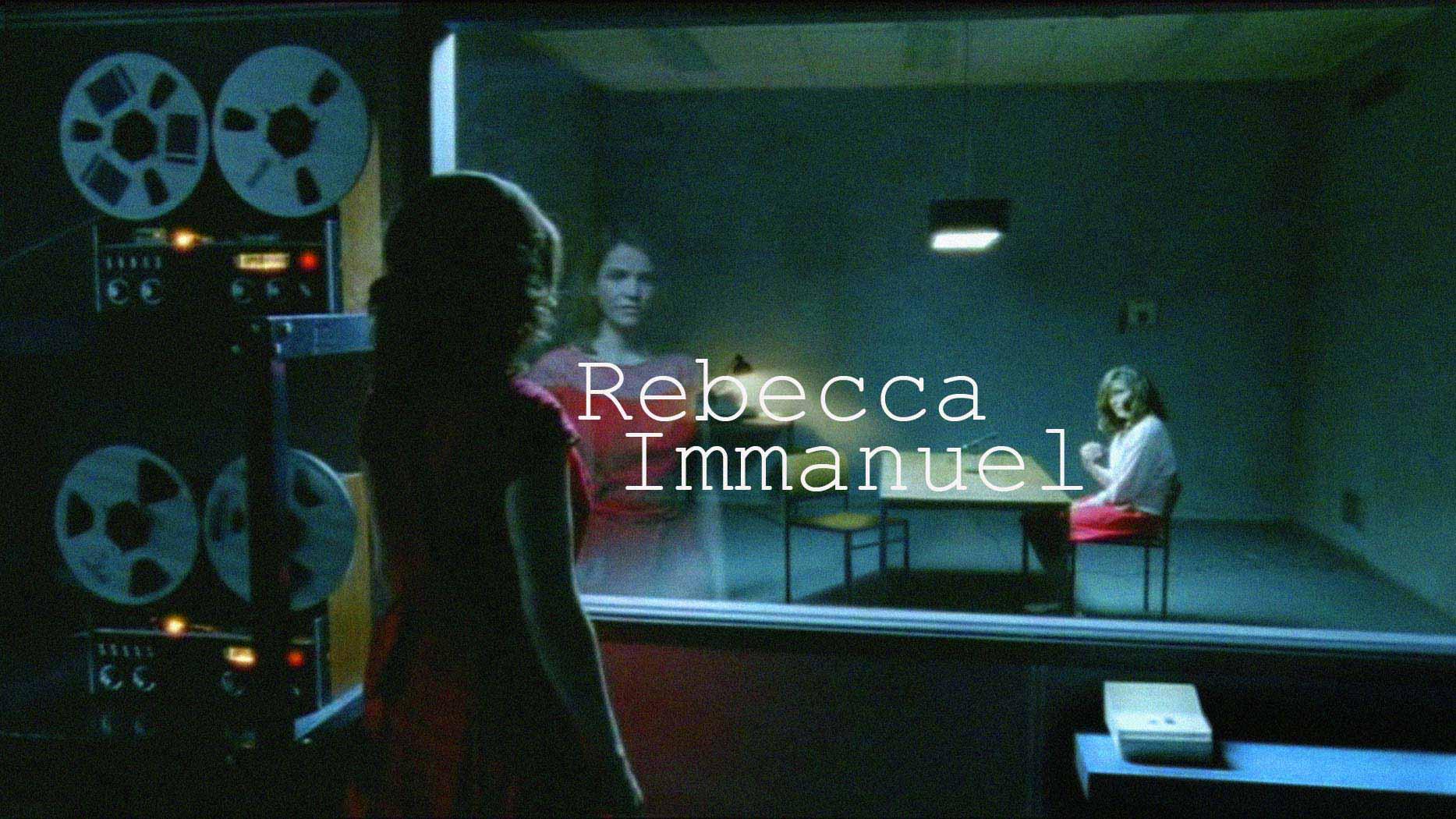 Rebecca Immanuel Schauspielerin Actress Offizielle